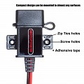 toma corriente usb impermeable MP0609A